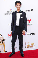 PASADENA, CA, USA - OCTOBER 10: Xolo Mariduena arrives at the 2014 NCLR ALMA Awards held at the Pasadena Civic Auditorium on October 10, 2014 in Pasadena, California, United States. (Photo by Celebrity Monitor)