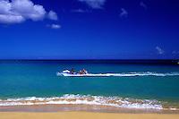 Jet ski, North Shore, Oahu