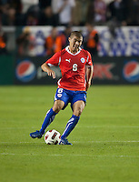CARSON, CA – JANUARY 22: Chile midfielder Francisco Silva (6) during the international friendly match between USA and Chile at the Home Depot Center, January 22, 2011 in Carson, California. Final score USA 1, Chile 1.