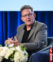 "PASADENA, CA - JANUARY 13: Creator/Executive Producer John Logan attends the panel for ""Penny Dreadful: City of Angels"" during the Showtime presentation at the 2020 TCA Winter Press Tour at the Langham Huntington on January 13, 2020 in Pasadena, California. (Photo by Frank Micelotta/PictureGroup)"