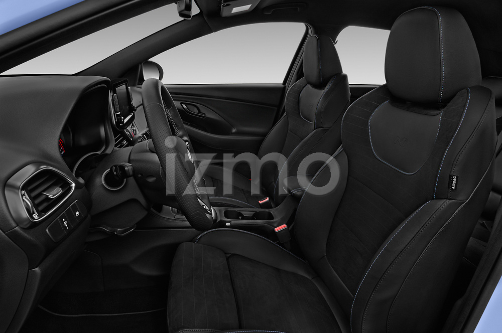 Front seat view of a 2018 Hyundai i30 N Performance Pack Select Doors Door Hatchback front seat car photos