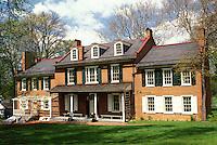 Wheatland, Lancaster, Pennsylvania Dutch Country, Lancaster County, Amish Country, Pennsylvania, Wheatland the Federal style mansion of former U.S. President James Buchanan of Pennsylvania.