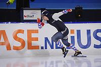 SCHAATSEN: HEERENVEEN: 22-12-2017, Thialf IJsstadion, trainingswedstrijd, Jesper Hospes, ©foto Martin de Jong