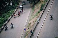 race leaders in the final kimometers up the Citadelle de Namur <br /> <br /> 59th Grand Prix de Wallonie 2018 <br /> 1 Day Race from Blegny to Citadelle de Namur (BEL / 206km)