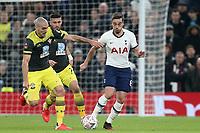 Harry Winks of Tottenham Hotspur and Oriol Romeu of Southampton during Tottenham Hotspur vs Southampton, Emirates FA Cup Football at Tottenham Hotspur Stadium on 5th February 2020