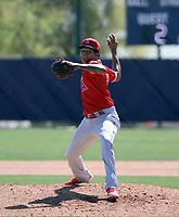 Jose Alberto Rivera - Los Angeles Angels 2021 spring training (Bill Mitchell)