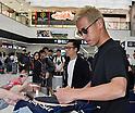 Keisuke Honda sighting at Narita airport