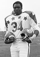 George Reed 1970 Canadian Football League Allstar team. Copyright photograph Ted Grant