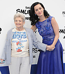 Katy Perry and her grandma Ann Hudson <br />  at The Columbia Pictures and Sony Pictures Animation L.A. Premiere of The Smurfs 2 held at The Regency Village Theatre in Westwood, California on July 28,2013                                                                   Copyright 2013 Hollywood Press Agency