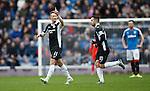 Iain Russell celebrates his goal