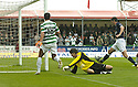 11/08/2007       Copyright Pic: James Stewart.File Name : sct_jspa06_falkirk_v_celtic.KENNY MILNE KNOCKS THE BALL INTO HIS OWN NET FOR CELTIC'S EQUALISER....James Stewart Photo Agency 19 Carronlea Drive, Falkirk. FK2 8DN      Vat Reg No. 607 6932 25.Office     : +44 (0)1324 570906     .Mobile   : +44 (0)7721 416997.Fax         : +44 (0)1324 570906.E-mail  :  jim@jspa.co.uk.If you require further information then contact Jim Stewart on any of the numbers above........