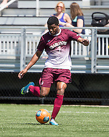 The College of Charleston Cougars played the  Georgia Southern Eagles in The Manchester Cup on April 5, 2014.  The Cougars won 2-0.  Adan Noel (7)