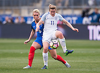 Chester, PA - March 1, 2017: France defeated England 2-1 during the SheBelieves Cup at Talen Energy Stadium