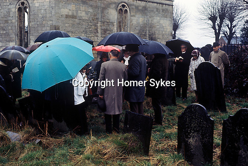 William Hubbard Easter Service Market Harborough Leicestershire UK 1970s.