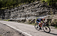 Gianluca Brambilla (ITA/Trek - Segafredo)<br /> <br /> 104th Giro d'Italia 2021 (2.UWT)<br /> Stage 12 from Siena to Bagno di Romagna (212km)<br /> <br /> ©kramon