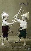 Jonny, CHILDREN, nostalgic, paintings(GBJJ04,#K#) Kinder, niños, nostalgisch, nostálgico