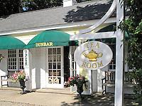 Tea room, Sandwich, Cape Cod, MA, USA