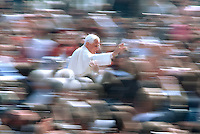 Pope Benedict XVI general audience in Saint Peter's Square;8 april 2009.. December. 25, 2007.. .