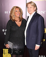 """NEW YORK, NY - FEBRUARY 04: Denise Rich, Niels Lauersen at the New York Premiere Of Columbia Pictures' """"The Monuments Men"""" held at Ziegfeld Theater on February 4, 2014 in New York City, New York. (Photo by Jeffery Duran/Celebrity Monitor)"""