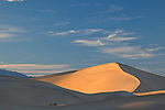 Mesquite Sand Dunes at Death Valley National Park, California, USA