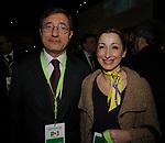GIANCARLO D'ALESSANDRO E DORINA BIANCHI<br /> ASSEMBLEA NAZIONALE PARTITO DEMOCRATICO<br /> FIERA DI ROMA - 2009