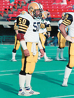 Henry Waszczuk Hamilton Tiger Cats 1984. Copyright photograph Scott Grant