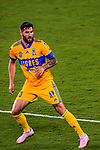 Forward Andre-Pierre Gignac of Tigres UANL (MEX) vs New York City FC (USA) during their Scotiabank Concacaf Champions League Quarter Finals match at the Orlando's Exploria Stadium on 15 December 2020, in Florida. Photo by Victor Fraile / Power Sport Images