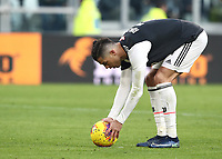 Calcio, Serie A: Juventus - Cagliari, Turin, Allianz Stadium, January 6, 2020.<br /> Juventus' Cristiano Ronaldo before kicking a penalty during the Italian Serie A football match between Juventus and Cagliari at Torino's Allianz stadium, on January 6, 2020.<br /> UPDATE IMAGES PRESS/Isabella Bonotto