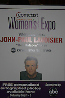 John-Paul Lavoisier at the 8th Annual Connecticut Women's Expo presented by Comcast on September 11 & 12, 2010 at the Connecticut Expo Center, Hartford, Connecticut. (Photo by Sue Coflin/Max Photos)