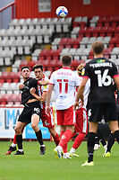 Ian Henderson of Salford City F.C. during Stevenage vs Salford City, Sky Bet EFL League 2 Football at the Lamex Stadium on 3rd October 2020