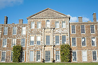 The garden facade of Aynhoe Park reflects the 18th century changes effected by Sir John Soane