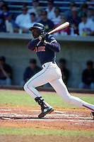 Boston Red Sox Andre Dawson during Spring Training 1993 at City of Palms Park in Fort Myers, Florida.  (MJA/Four Seam Images)