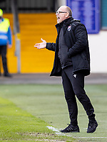 13th March 2021; Global Energy Stadium, Dingwall, Highland, Scotland; Scottish Premiership Football, Ross County versus Hibernian; John Hughes Manager of Ross County on the touchline