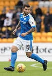 St Johnstone v Partick Thistle…19.08.17… McDiarmid Park… SPFL<br />Richie Foster<br />Picture by Graeme Hart.<br />Copyright Perthshire Picture Agency<br />Tel: 01738 623350  Mobile: 07990 594431