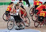Janet Ferguson, Rio 2016 - Wheelchair Basketball // Basketball en fauteuil roulant.<br /> Canada vs. China in women's Wheelchair Basketball  // Le Canada contre la Chine en  basketball en fauteuil roulant féminin . 16/09/2016.