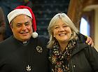 Dec. 7, 2012; President's Christmas Reception, Main Building..Photo by Matt Cashore/University of Notre Dame
