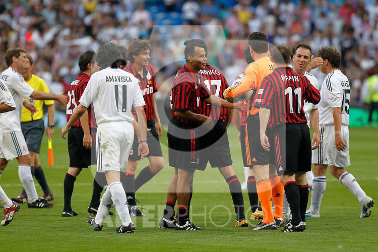 Madrid (30/05/10).- Estadio Santiago Bernabeu..Corazon Classic Match 2010.Real Madrid Veteranos 4- Milan Glorie 3..Photo: Alex Cid-Fuentes/ ALFAQUI.