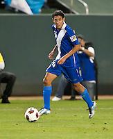 CARSON, CA – June 6, 2011: Guatemalan Jonathan Lopez (24) during the match between Guatemala and Honduras at the Home Depot Center in Carson, California. Final score Guatemala 0, Honduras 0.