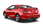 Car pictures of rear three quarter view of a 2015 Honda Civic Si Coupe SI 2 Door  Angular Rear