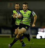 20th December 2020; The Sportsground, Galway, Connacht, Ireland; European Champions Cup Rugby, Connacht versus Bristol Bears; Jack Carty on an attacking run for Connacht