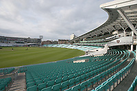General view of the ground ahead of Surrey CCC vs Essex CCC, LV Insurance County Championship Division 2 Cricket at the Kia Oval on 12th September 2021