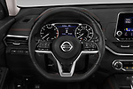 Car pictures of steering wheel view of a 2020 Nissan Altima SR-FWD 4 Door Sedan Steering Wheel