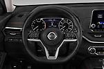 Car pictures of steering wheel view of a 2020 Nissan Altima SR-FWD 4 Door Sedan Steering Wheel