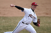 March 22nd 2009:  Pitcher Nate Eppley (23) of the Rider University Broncs during a game at Sal Maglie Stadium in Niagara Falls, NY.  Photo by:  Mike Janes/Four Seam Images