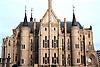 Bishop's Palace (1887-1893) by Antonio Gaudí (1852-1926), Astorga. León province<br /> <br /> Palacio Episcopal (1887-1893) por Antonio Gaudí (1852-1926)<br /> <br /> Bischofspalast (1887-1893) von Antonio Gaudí (1852-1926), Astorga, Provinz León<br /> <br /> 2610 x 1742 px<br /> Original: 35 mm