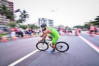 Vitória (ES), 08/03/2020 - Campeonato Capixaba de Triathlon 1ª Etapa - Felipe Annunciato Campeão na categoria Principal, na abertura do capixaba de triathlon 2020 realizado na praia de camburi na capital capixaba.
