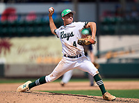 Seacrest Country Day Stingrays pitcher Matt Riley (4) during the 42nd Annual FACA All-Star Baseball Classic on June 6, 2021 at Joker Marchant Stadium in Lakeland, Florida.  (Mike Janes/Four Seam Images)