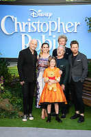 """director, Marc Forster, Hayley Atwell, Brontie Carmichael, Jim Cummings and Simon Farnaby and Ewan McGregor<br /> arriving for the """"Christopher Robin"""" premiere at the BFI Southbank, London<br /> <br /> ©Ash Knotek  D3416  05/08/2018"""