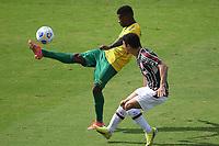 Rio de Janeiro (RJ), 06/06/2021  - Fluminense-Cuiabá - Jonanthan Cafu jogador do Cuiabá,durante partida contra o Fluminense,válida pela 2ª rodada do Campeonato Brasileiro 2021,realizada no Estádio de São Januário,na zona norte do Rio de Janeiro,neste domingo (06).