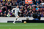 Real Madrid's Gareth Bale during La Liga match between FC Barcelona and Real Madrid at Camp Nou Stadium in Barcelona, Spain. October 28, 2018. (ALTERPHOTOS/A. Perez Meca)